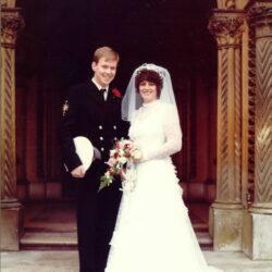 Allen Parton & Sandra Parton's First Wedding