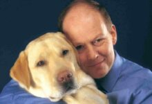 Photo of Allen Parton: the Royal Navy veteran whose life was saved by his assistance dog Endal