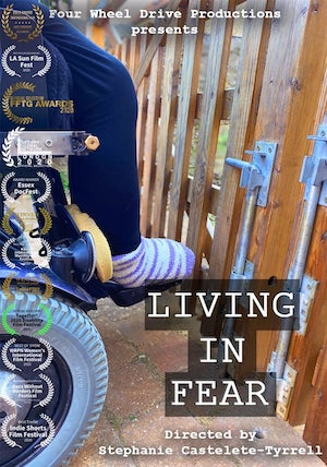 Living in Fear Directed by Stephanie Castelete-Tyrrell film poster