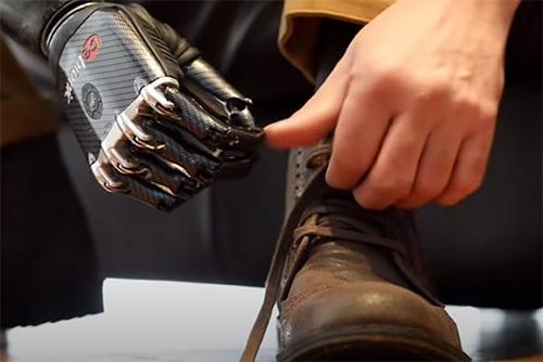 Bionic Feats- Tying Shoelaces