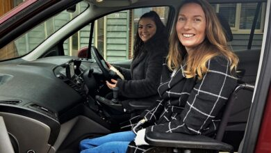 Photo of How riding upfront in your wheelchair accessible vehicle can be so beneficial