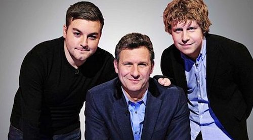 The Last Leg - Alex Brooker, Adam Hills and Josh Widdicombe