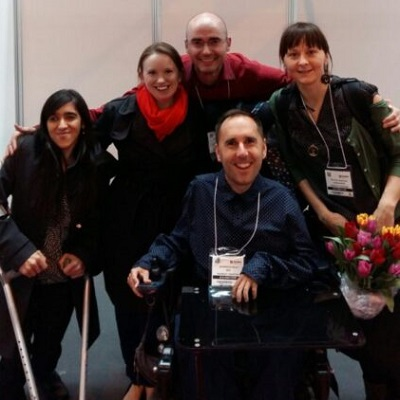 Disability Horizons team at Naidex