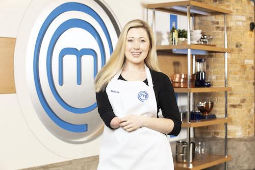 Melissa Johns on Celebrity MasterChef