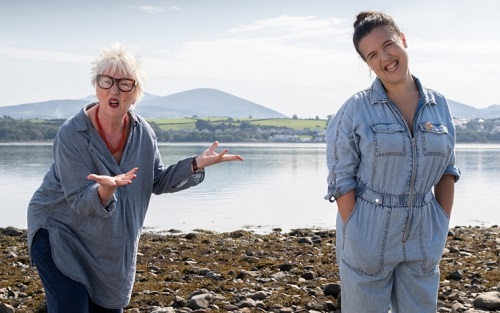 Rosie Jones and Jenny Eclair visit Anglesey