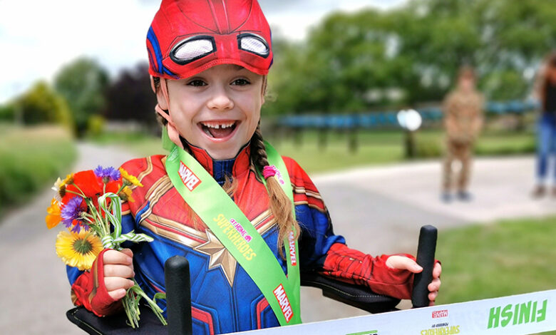 Photo of Get involved in superhero sports event for people with disabilities