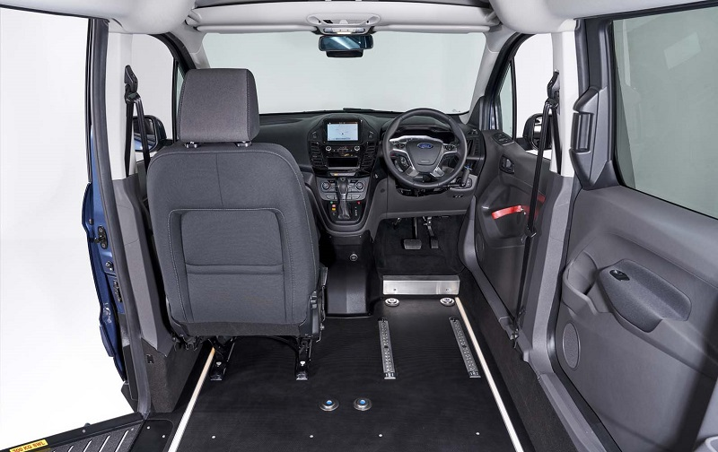 Sirus Automotive drive upfront wheelchair accessible vehicle