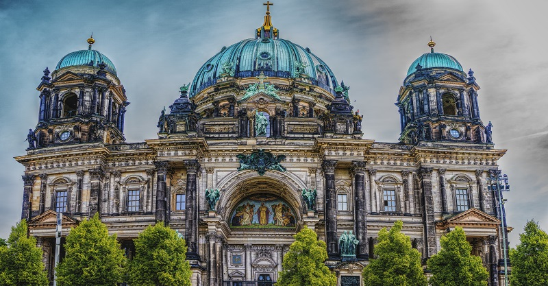 Accessible Berlin cathedral