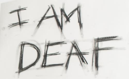 I Am Deaf sign - BBC Arts