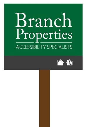 Branch Properties logo on a for sale board