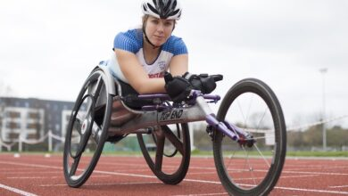 Photo of From London 2012 to Tokyo 2020 Paralympics: Paralympic wheelchair racer Hannah Cockroft MBE in the spotlight