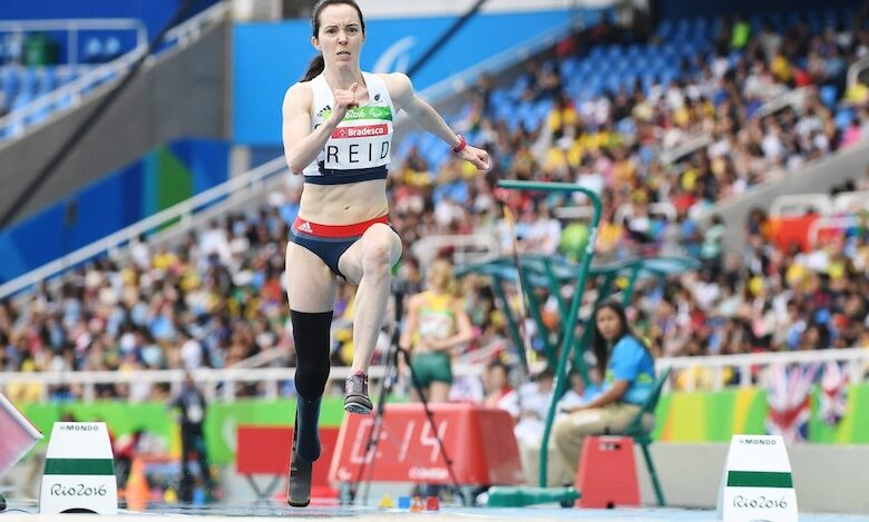 Photo of Tokyo 2020 Paralympics: Paralympic long jumper Stef Reid in the spotlight