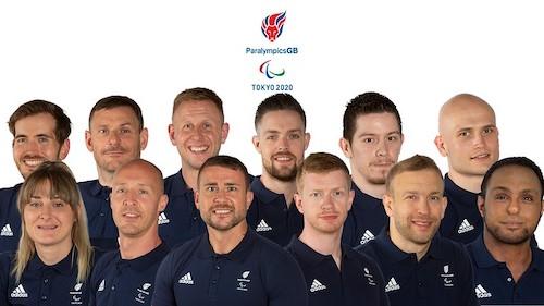 Team GB wheelchair rugby team