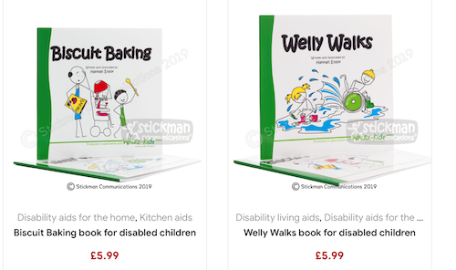 Biscuit Baking and Welly Walks books for children